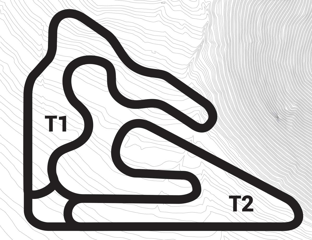 k1 Circuit track map concept