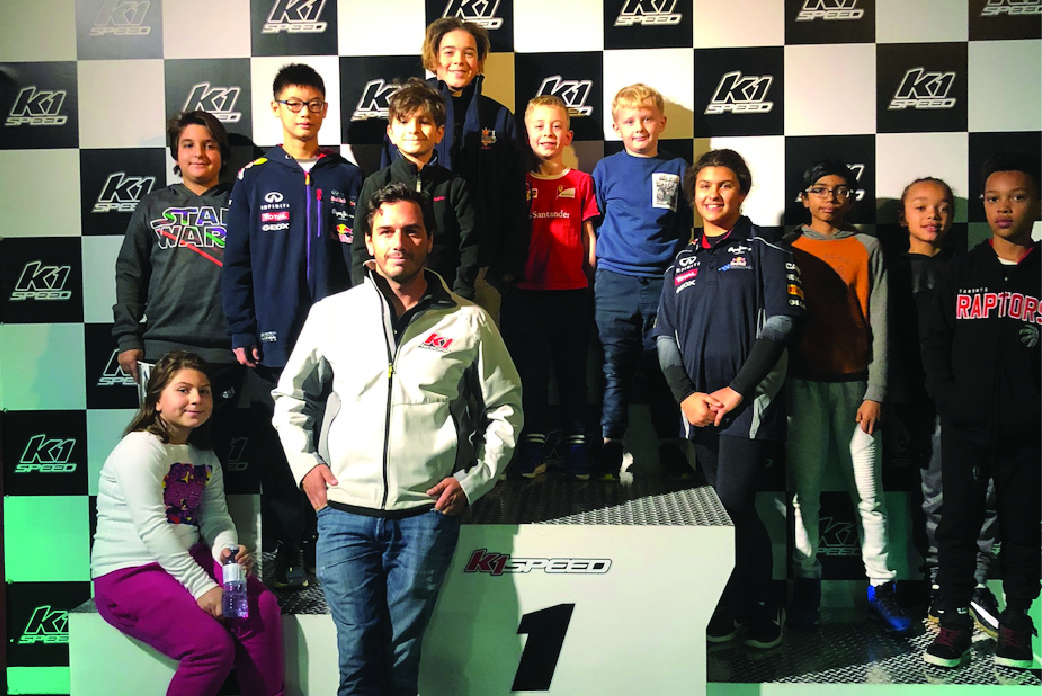 Karting Academy Podium