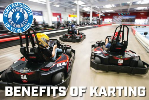 K1 Speed Benefits of Karting