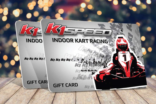 K1 Speed Gift Cards