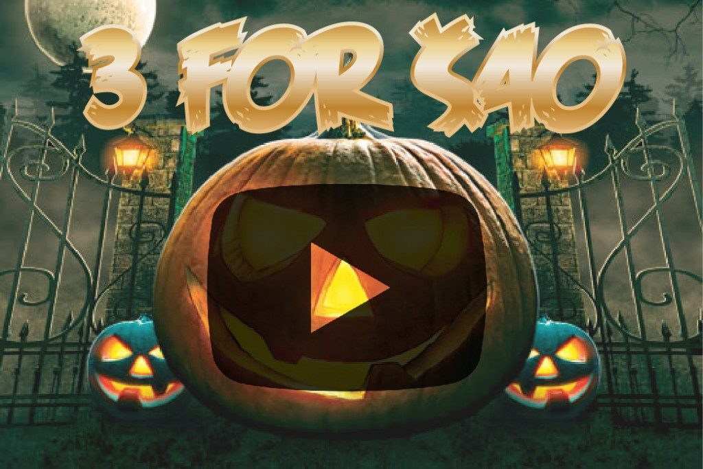 halloween video thumbnail