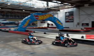 k1 Speed Hot Wheels Grand Prix on Track
