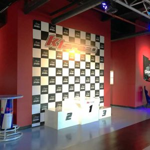K1 Speed Toronto Podium