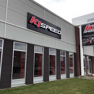 K1 Speed Montreal Entrance