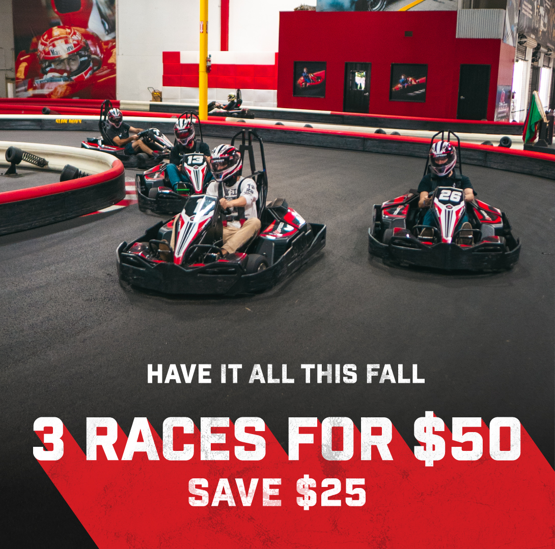 3 for $50 Fall Promo