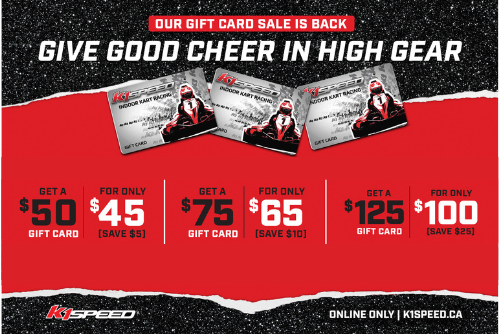 holiday gift card offer sale
